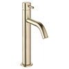 Crosswater MPRO Tall Monobloc Basin Mixer - Brushed Brass - PRO112DNF profile small image view 1