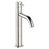 Crosswater MPRO Tall Monobloc Basin Mixer - Brushed Stainless Steel Effect - PRO112DNV profile small image view 1