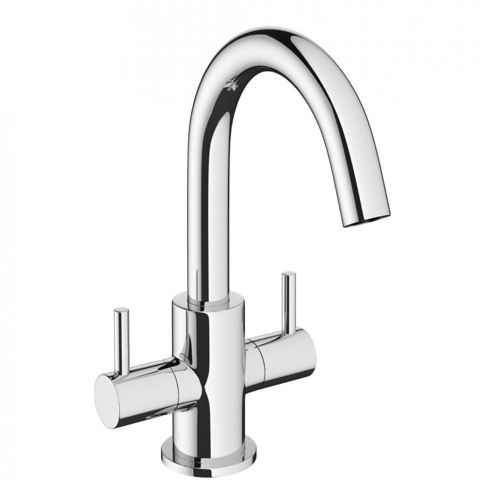 Crosswater - Mike Pro Monobloc Basin Mixer - Chrome - PRO116DNC Large Image
