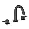 Crosswater MPRO Deck Mounted 3 Hole Set Basin Mixer - Matt Black - PRO135DNM profile small image view 1