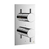 Crosswater - Mike Pro Thermostatic Bath Shower Valve - Chrome - PRO1500RC profile small image view 1