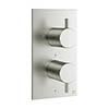 Crosswater - Mike Pro Thermostatic Shower Valve - Brushed Stainless Steel - PRO1510RV profile small image view 1