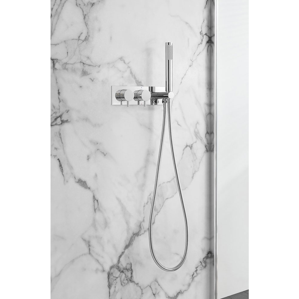 Crosswater - Mike Pro Thermostatic Shower Valve with Handset - Chrome - PRO1701RC Profile Large Image