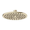 Crosswater MPRO 200mm Round Fixed Showerhead - Brushed Brass - PRO200F profile small image view 1