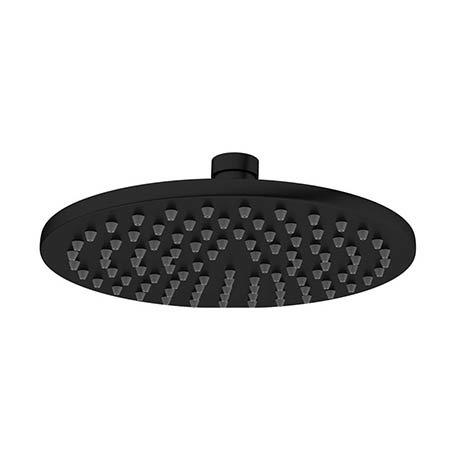 Crosswater MPRO 200mm Round Fixed Showerhead - Matt Black - PRO200M