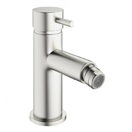 Crosswater - Mike Pro Monobloc Bidet Mixer - Brushed Stainless Steel - PRO210DPV