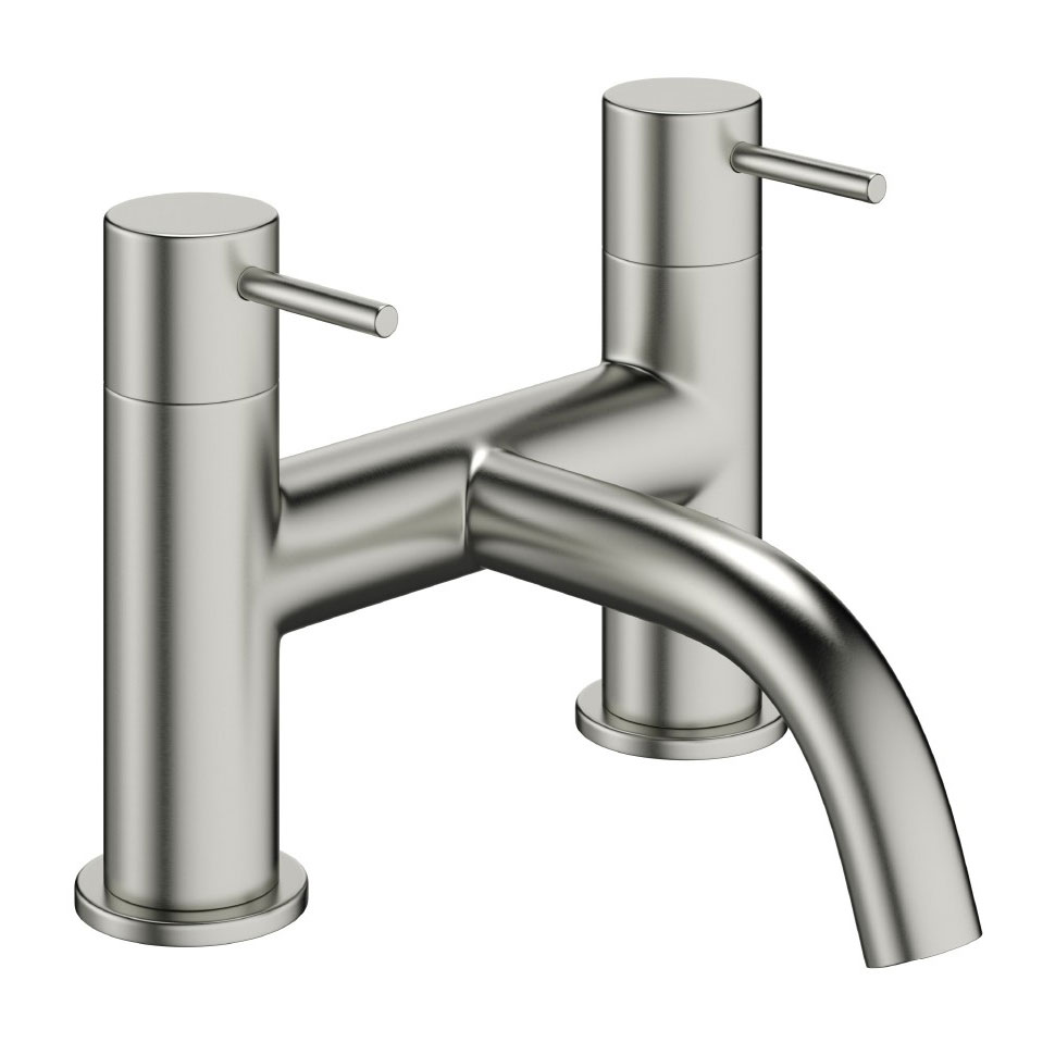 Crosswater - Mike Pro Bath Filler - Brushed Stainless Steel - PRO322DV Large Image