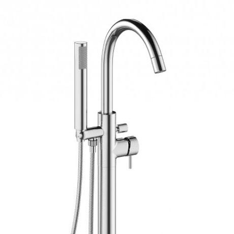 Crosswater - Mike Pro Floor Mounted Freestanding Bath Shower Mixer - Chrome - PRO416FC Profile Large Image