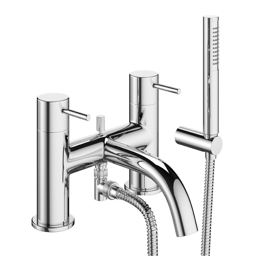 Crosswater - Mike Pro Bath Shower Mixer with Kit - Chrome - PRO422DC Large Image