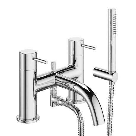 Crosswater - Mike Pro Bath Shower Mixer with Kit - Chrome - PRO422DC