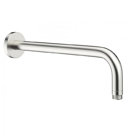 Crosswater - Mike Pro Wall Mounted Shower Arm - Brushed Stainless Steel - PRO684V