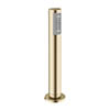 Crosswater MPRO Follow Me Shower Handset and Hose with Waste Drain - Brushed Brass - PRO812F profile small image view 1
