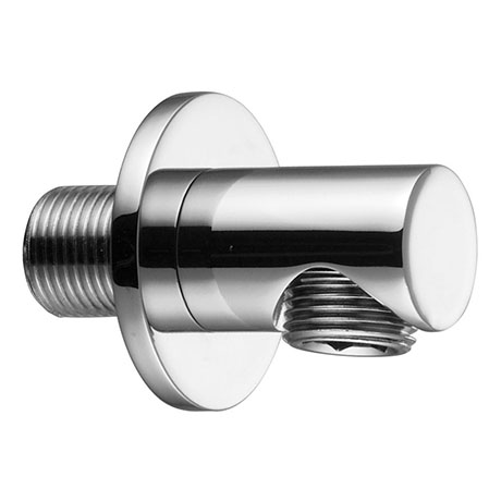 Crosswater MPRO Wall Outlet Elbow - Chrome - PRO953C