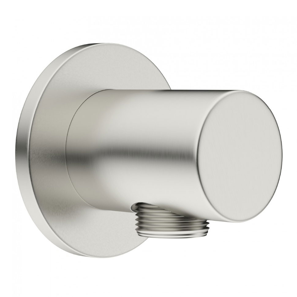 Crosswater - Mike Pro Wall Outlet Elbow - Brushed Stainless Steel - PRO953V Large Image