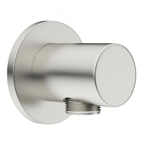 Crosswater - Mike Pro Wall Outlet Elbow - Brushed Stainless Steel - PRO953V