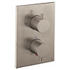 Crosswater - Stainless Steel Effect MPRO Crossbox 1 Outlet Trim & Levers Finishing Kit profile small image view 1