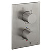 Crosswater - Stainless Steel Effect MPRO Crossbox 3 Outlet Trim & Levers Finishing Kit profile small image view 1