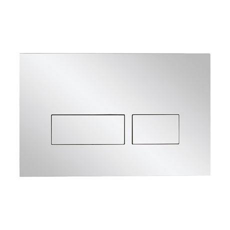 Bauhaus Mike Pro Dual Flush Plate - Polished Finish - PROFLUSHCP