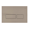 Crosswater MPRO Stainless Steel Effect Dual Flush Plate - PROFLUSHV+ profile small image view 1