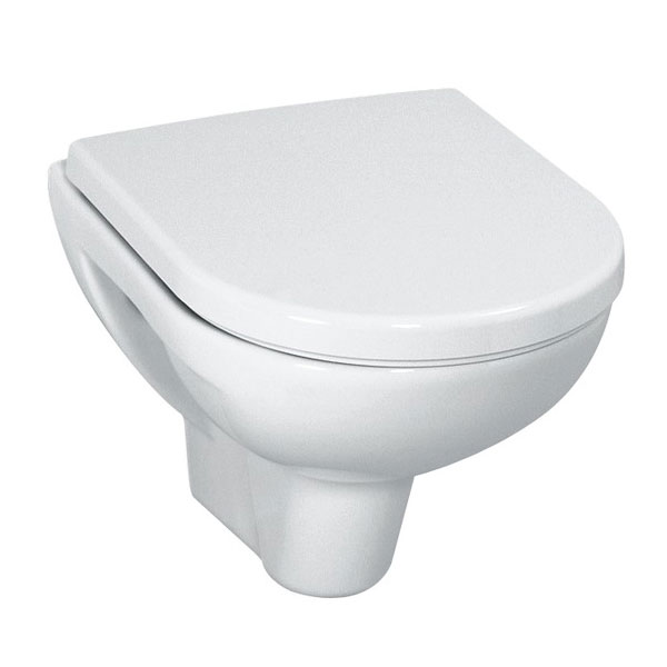 Laufen - Pro Compact Wall Hung Pan with Toilet Seat - PROWC10 Large Image
