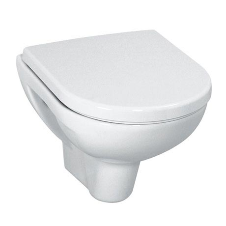 Laufen - Pro Compact Wall Hung Pan with Toilet Seat - PROWC10