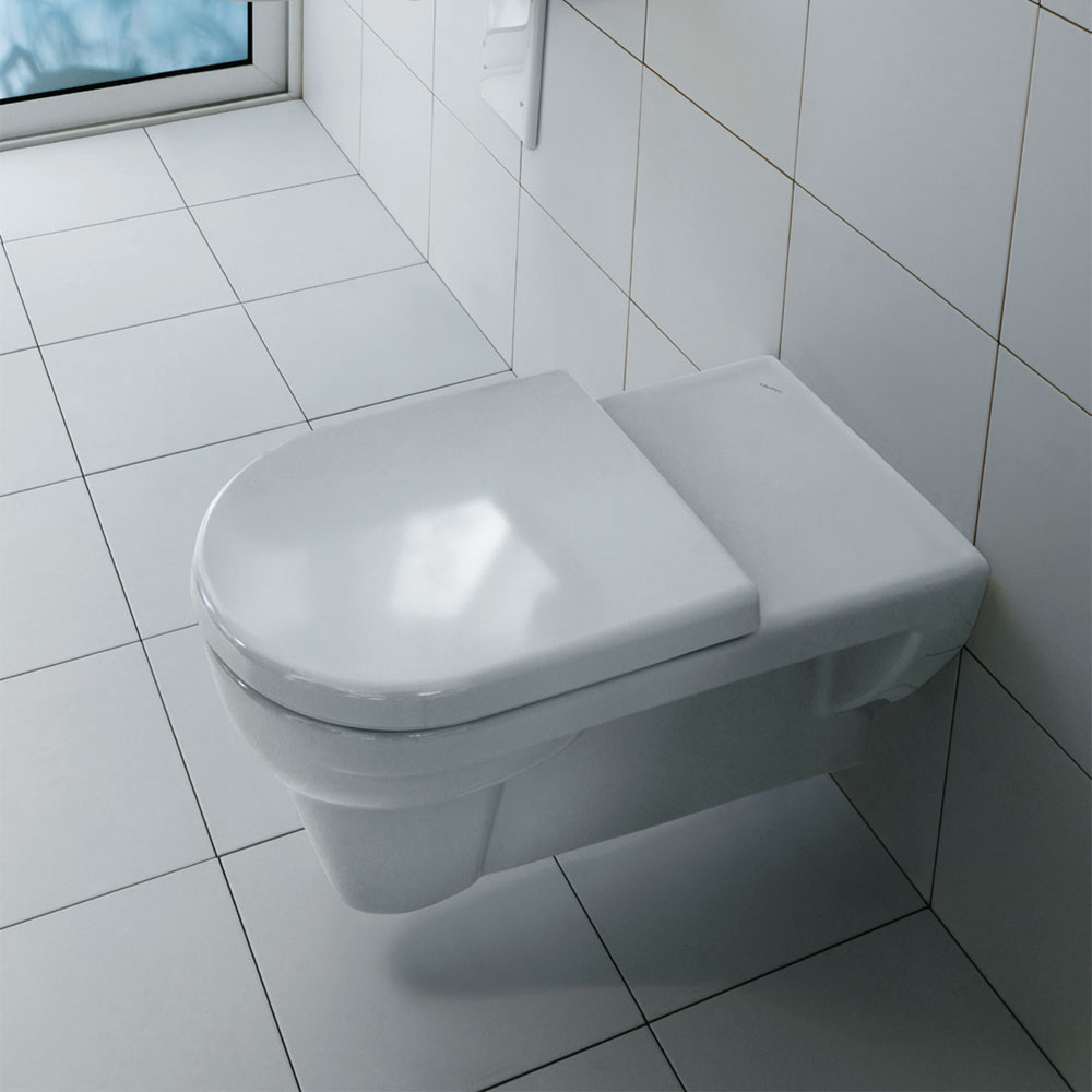 Laufen - Pro Liberty Wall Hung Pan with Antibacterial Seat (Extended Projection) - PROWC11 Feature Large Image