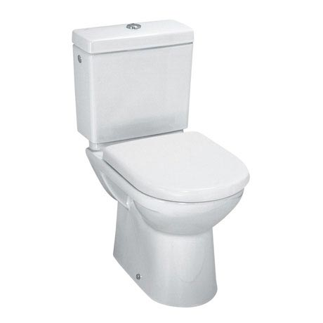 Laufen - Pro Close Coupled Toilet (Open Back) - PROWC1