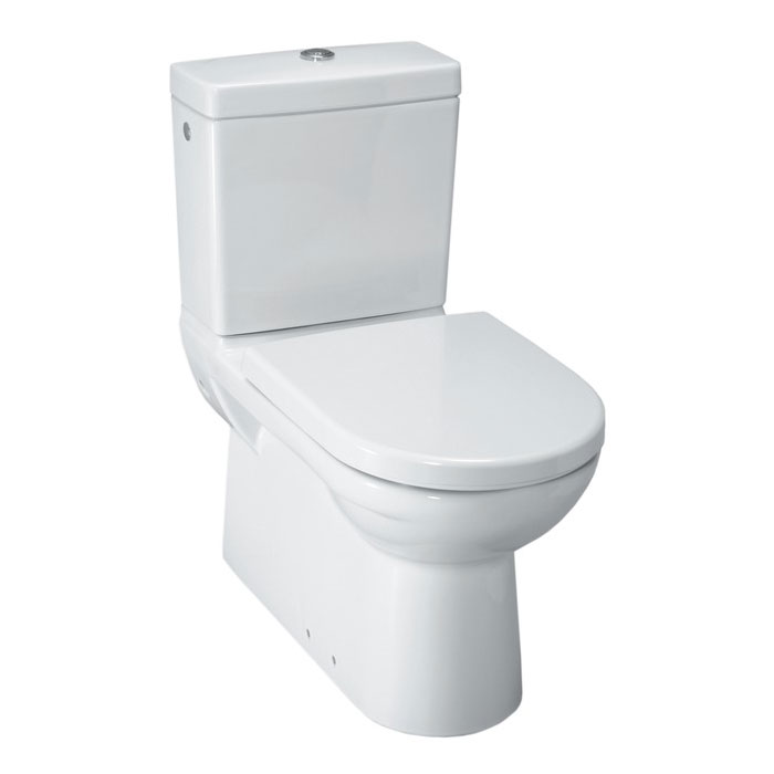 Laufen - Pro Close Coupled Toilet (Back to Wall) - PROWC2 Large Image