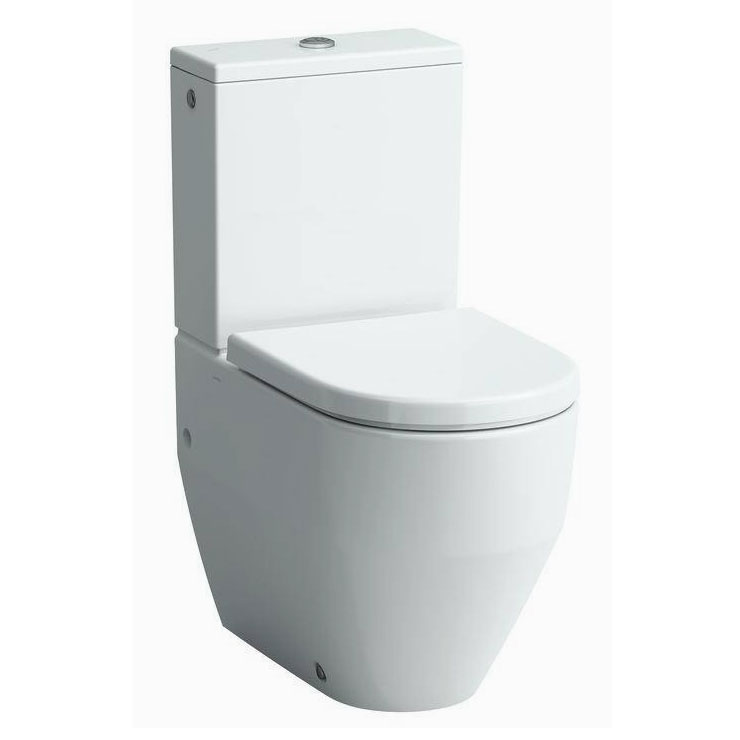 Laufen - Pro Close Coupled Toilet (Back to Wall) - PROWC3 Large Image