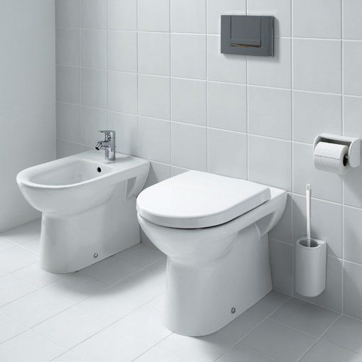 Laufen - Pro Back to Wall Pan with Toilet Seat - PROWC5 Profile Large Image