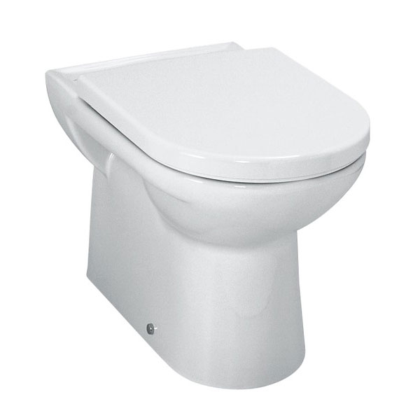 Laufen - Pro Back to Wall Pan with Toilet Seat - PROWC5 Large Image