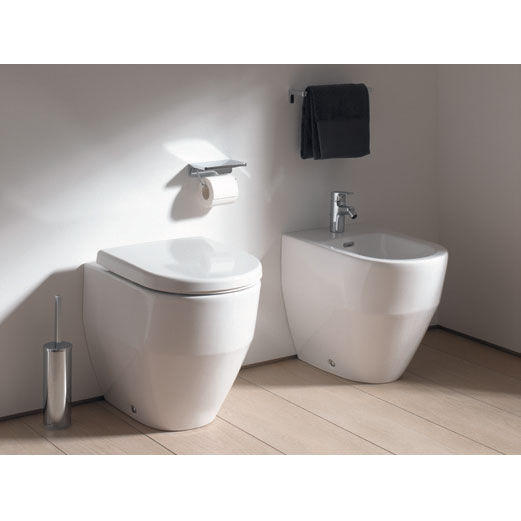 Laufen - Pro Back to Wall Pan with Antibacterial Seat - PROWC6 profile large image view 2