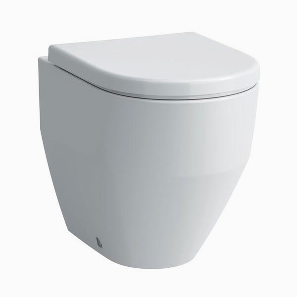 Laufen - Pro Back to Wall Pan with Antibacterial Seat - PROWC6 Large Image