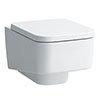 Laufen Pro S Wall Hung Pan + Soft Close Seat profile small image view 1