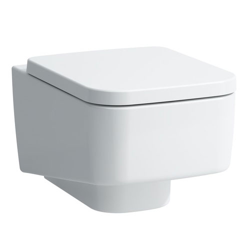 Laufen - Pro S Wall Hung Pan with Toilet Seat - PROWC7 Large Image
