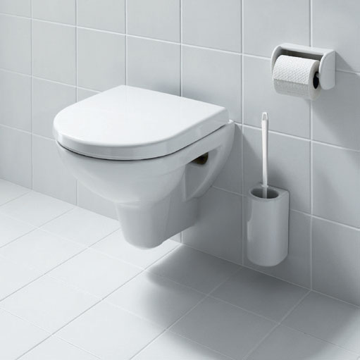 Laufen - Pro Compact Wall Hung Pan with Toilet Seat - PROWC10 Profile Large Image