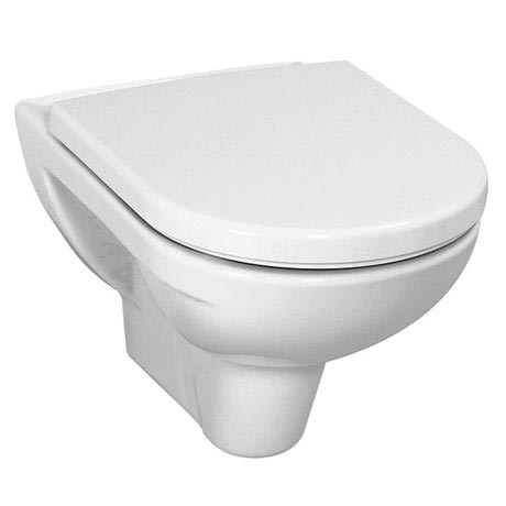 Laufen - Pro Wall Hung Pan with Toilet Seat - PROWC8