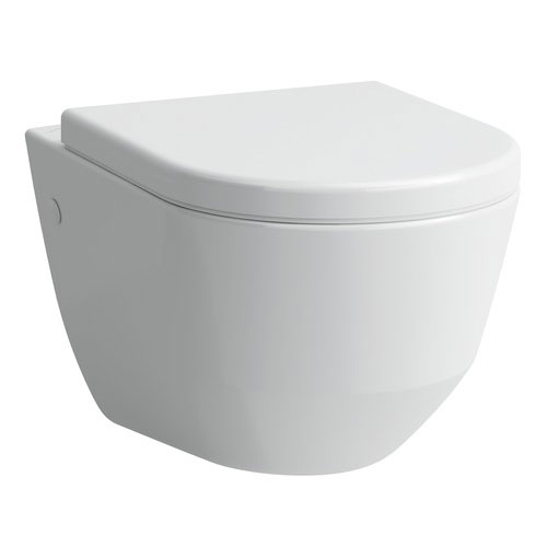 Laufen - Pro Wall Hung Pan with Antibacterial Seat - PROWC9 Large Image