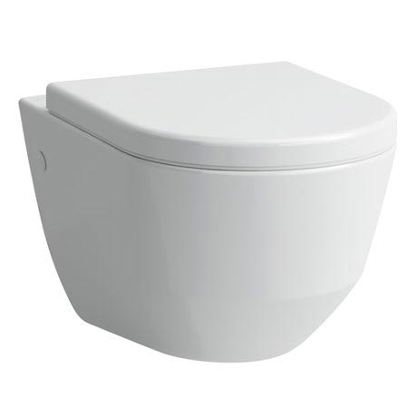 Laufen - Pro Wall Hung Pan with Antibacterial Seat - PROWC9