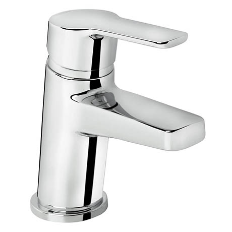 Bristan - Pisa Basin Mixer With Clicker Waste - Chrome - PS-BAS-C