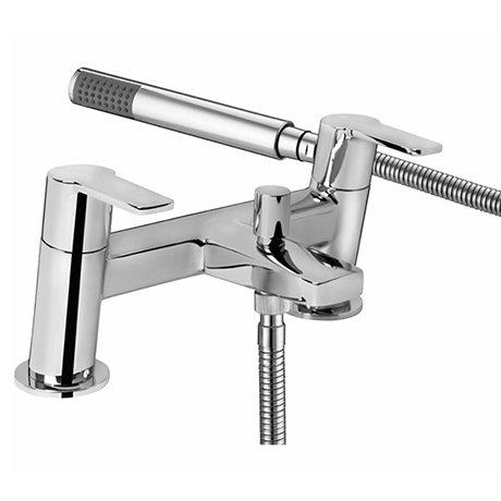Bristan - Pisa Bath Shower Mixer - Chrome - PS2-BSM-C