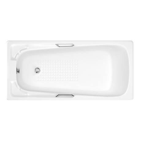 Trojan Aquarius 0TH 1500 x 700mm Acrylic Bath with Twin Grip - PSJ020