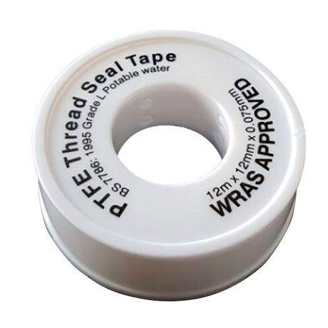 PTFE Thread Tape 12mm x 12 metres