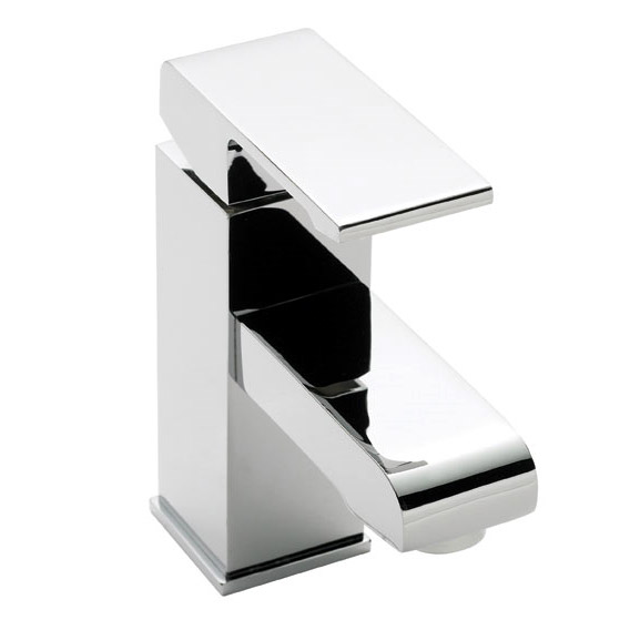 Ultra Series P Mono Basin Mixer Tap Inc. Waste - Chrome - PTY365 Large Image