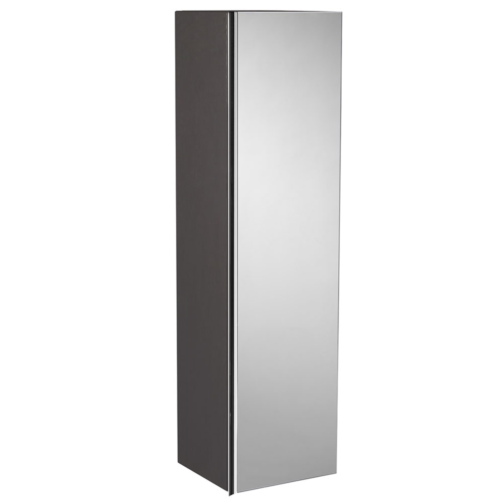 Roper Rhodes 320mm Mirrored Storage Unit - Charcoal Elm Large Image