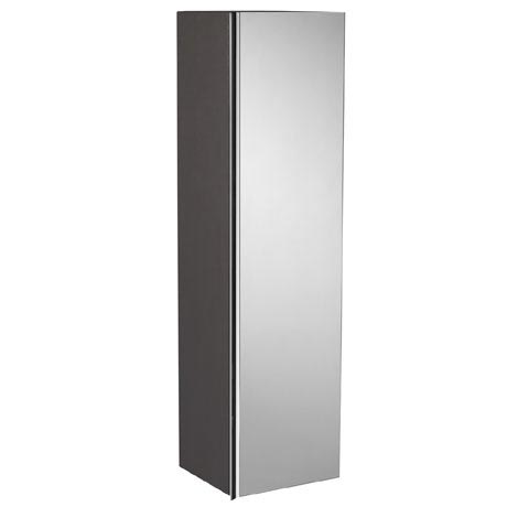 Roper Rhodes 320mm Mirrored Storage Unit - Charcoal Elm