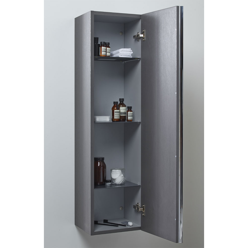 Roper Rhodes 320mm Mirrored Storage Unit - Gloss White profile large image view 2