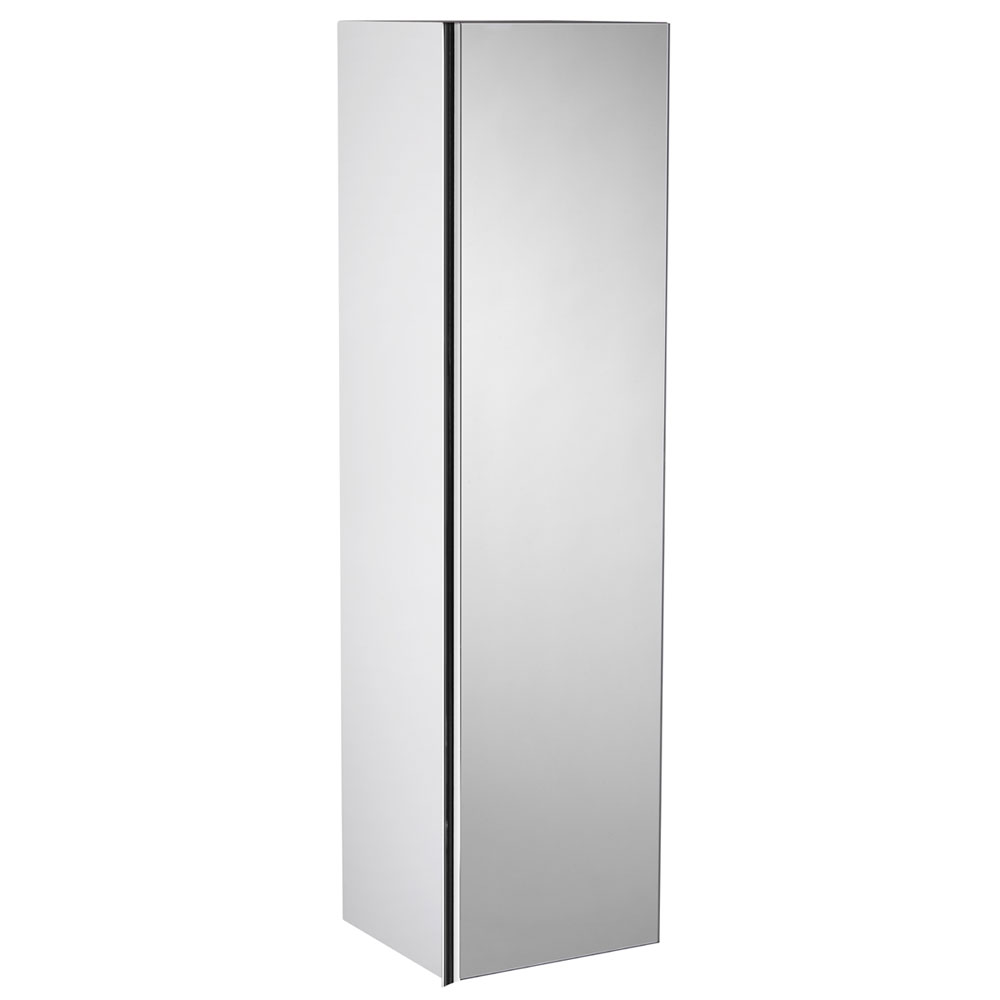 Roper Rhodes 320mm Mirrored Storage Unit - Gloss White Large Image