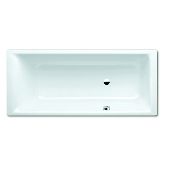 Kaldewei - Puro Steel Bath with Side Overflow and Leg Set Large Image