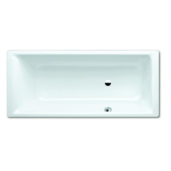 Kaldewei Puro Steel Bath with Side Overflow + Leg Set profile large image view 1